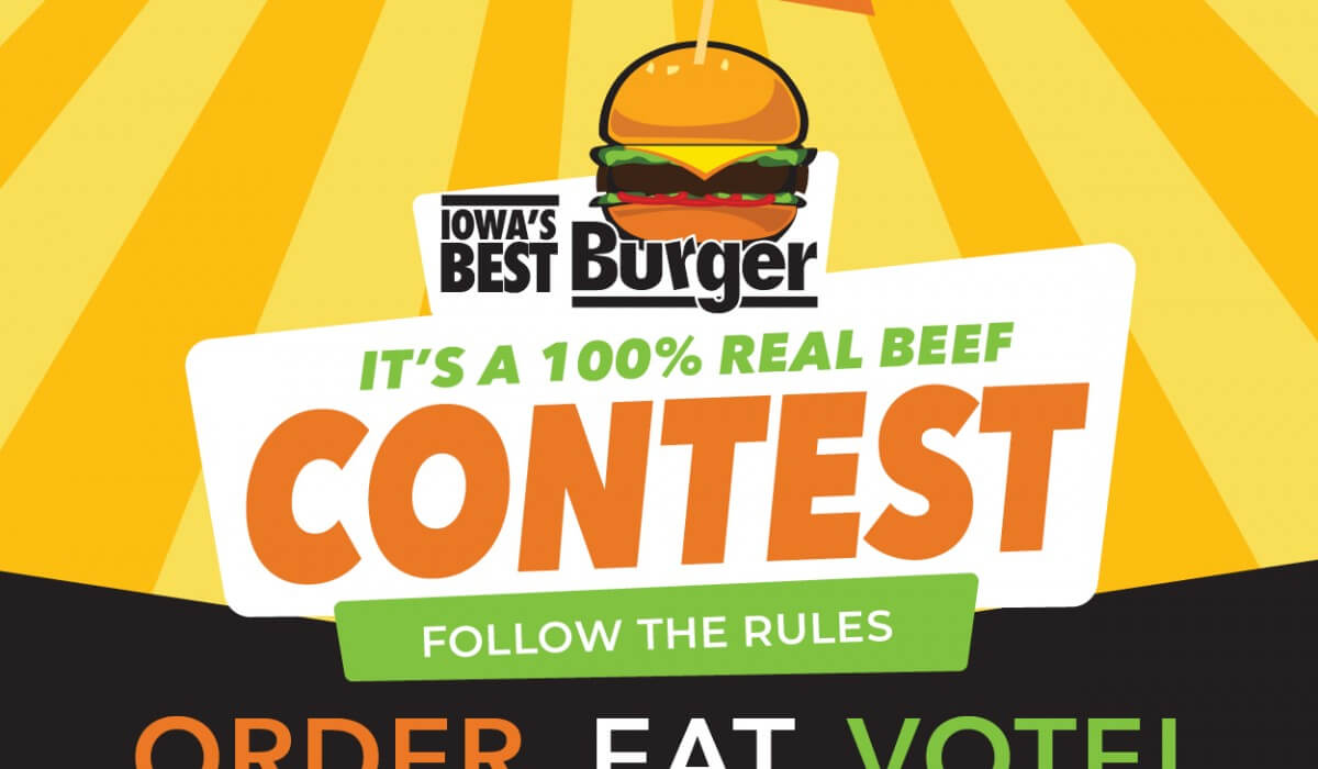 Post Photo for The Search is on for Iowa's Best Burger!