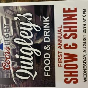 Post Photo for Quigley's Show & Shine Fredericksburg Ia